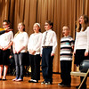"""John P. Cleary   for The Herald Bulletin<br /> The Anderson Christian School Choir sings """"God of the City"""" during the National Day of Prayer at the Anderson City auditorium."""