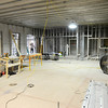 Don Knight | The Herald Bulletin<br /> Construction of the new Madison County dispatch center running ahead of schedule and $150,000 under budget. The building should be completed by September.