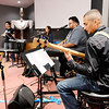 Don Knight | The Herald Bulletin<br /> The worship band at Inglesia De Dios Emanuel rehearses on Friday in preparation for a service to celebrate the church's one year anniversary in Pendleton.