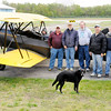 Don Knight | The Herald Bulletin<br /> Members of the local chapter of the Experimental Aircraft Association will be hosting their Young Eagles event on May 14th at the Anderson Airport. Members of the club pictured from left are, Jeff Moore, Bill Hanna, Jim Wright, Mark Gilmore, Bob Snider, Corwin Day and Monte Daugherty.