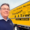 John P. Cleary | The Herald Bulletin<br /> John Mitchell, longtime owner of Two Guys & A Truck, is moving into semi- retirement.