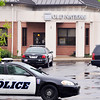 John P. Cleary | The Herald Bulletin<br /> The Old National Bank branch at 1501 Broadway was reportedly robbed about 2:35 p.m. Monday by a man who showed no weapon.