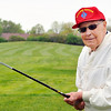 John P. Cleary |  The Herald Bulletin<br /> Carl Scott, 93, will have the honor of hitting the first tee shot to officially open Elwood Golf Links on May 6th during their opening celebration.