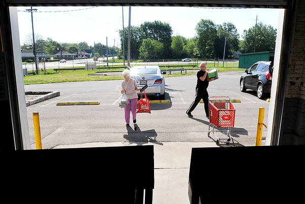 John P. Cleary |  The Herald Bulletin<br /> Madison County Recycling Center.