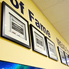 Don Knight | The Herald Bulletin<br /> Students who had a perfect score on the iREAD-3 test have a certificate hanging in Eastside Elementary's Wall of Fame.
