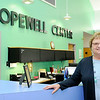 Don Knight | The Herald Bulletin<br /> Jane Ruff is retiring as executive director of the Hopewell Center.