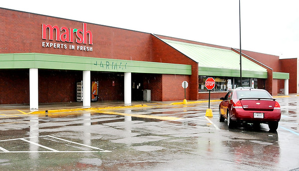 John P. Cleary |  The Herald Bulletin<br /> Exterior of the Marsh store at 2940 Broadway in Anderson.