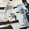 John P. Cleary    The Herald Bulletin<br /> Greg Frolke goes over photos and letters belonging to his father Darrell Frolke during WWII that Richard Petty got from an old storage locker he bought at auction than tracked down the family.