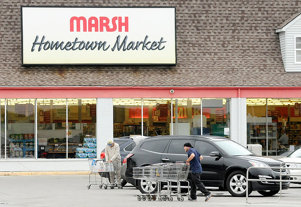 Don Knight | The Herald Bulletin<br /> If Marsh can't find a buyer all of it's stores will close. If that happens the west side of Anderson will be without a grocer.