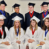 John P. Cleary |  The Herald Bulletin<br /> This is the Class of 2017 for Indiana Christian Academy. The graduates are: front row L to R, Kady Trehearne, Carly Shaver, Madison Edgreen, and Preslie Plew. Back row, Devin Wittkamper, Derrick Moore, Jr., Joshua Owen, and William King.