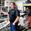 John P. Cleary |  The Herald Bulletin<br /> Local race car driver Travis Welpott hopes to make his sixth Little 500 race this year. Standing in his rural Pendleton shop Welpott says that qualifying for the race is the toughest part of the Little 500 and hopes to qualify better this year in his No.18 sprint car.