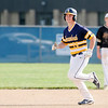 Don Knight | The Herald Bulletin<br /> Shenandoah Coleson White rounds the bases after hitting a home run on Thursday.