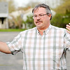 Don Knight | The Herald Bulletin<br /> Ed Drews talks about congregants being locked out of Cornerstone Ministries by their pastor who they say is selling the church to recoup back pay he claims he is owed.