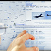 John P. Cleary | The Herald Bulletin<br /> The new aviation computer software shows the location of every aircraft  in the country that is equipped with the new technology plus will show a plane's call sign, altitude, speed, heading, flight plan and plane type with photo.