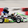 Don Knight | The Herald Bulletin<br /> Tiyon Chatman competes in the Kids Kart feature on the first day of the 24th annual Mayor's Cup Grand Prix at Mounds Mall on Saturday. Racing continues on Sunday.