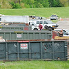 Don Knight | The Herald Bulletin<br /> Best Way Disposal provided several roll off dumpsters at Athletic Park for Anderson's Citywide Cleanup on Saturday.