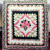 John P. Cleary | The Herald Bulletin<br /> This is the quilt to be raffled off at the Redbud Quilt Guild's biennial quilt show this weekend at the Anderson Center for the Arts.