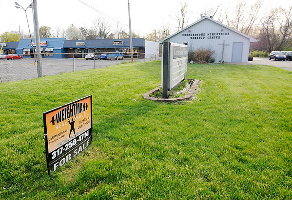 Don Knight | The Herald Bulletin<br /> Congregants at Cornerstone Ministries say their pastor is selling the church to recoup back pay he claims he is owed.