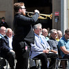John P. Cleary | The Herald Bulletin<br /> Taps were played during the Indiana State Police Pendleton District's annual memorial service Thursday.