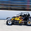 Don Knight | The Herald Bulletin<br /> JoJo Helberg drives the Spies Racing number 24 around the oval during practice for the Little 500 at the Anderson Speedway on Wednesday.