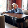 John P. Cleary | The Herald Bulletin<br /> Rosie Rigney, 82, keeps the lobby area of the Elwood McDonald's picked up and clean for their customers.