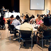 John P. Cleary | The Herald Bulletin <br /> The Dr. Martin Luther King Jr. Memorial Commission scholarship luncheon honored 130 students for their academic achievement Saturday afternoon at Madison Park Church of God.