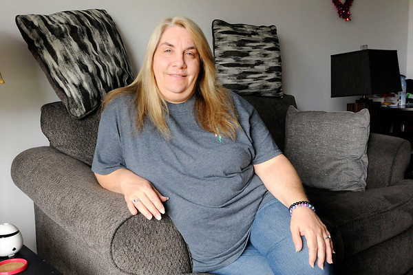 Don Knight | The Herald Bulletin<br /> Karen Warner of Elwood was adopted. She recently received the court records from her adoption and learned that her birth mother died in 1991 in Arizona and that she has a twin brother.