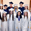 John P. Cleary | The Herald Bulletin <br /> Indiana Christian Academy 2019 graduation.