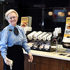 John P. Cleary | The Herald Bulletin<br /> Elwood McDonald's lobby manager is 82 year-old Rosie Rigney who has worked at the restaurant for 19 years.