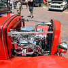 John P. Cleary | The Herald Bulletin <br /> About 100 cars were displayed along Meridian Street in downtown Anderson Saturday for the Little 500 Festival Hot Rod and Classics car show.