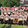 Rob Hunt | The Herald Bulletin<br /> The Daleville Broncos are the 2019 Sectional 55 1A champions.