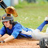 Don Knight | The Herald Bulletin<br /> APA's Jack Scott slides into home as the Jets hosted Liberty Christian on Friday.