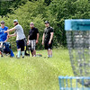 John P. Cleary | The Herald Bulletin <br /> On this Memorial Day afternoon there were several groups out playing disc golf at the disc golf course located at Edgewater Park in Anderson.