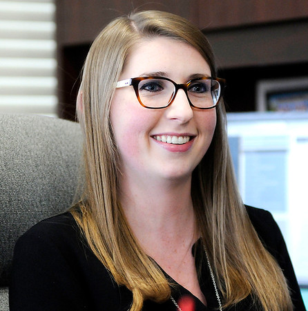 Don Knight | The Herald Bulletin<br /> Madison County Clerk Olivia Pratt graduated from Indiana University in 2016 with a degree in political science, Pratt had worked in the Clerk's office for two years prior to being elected.