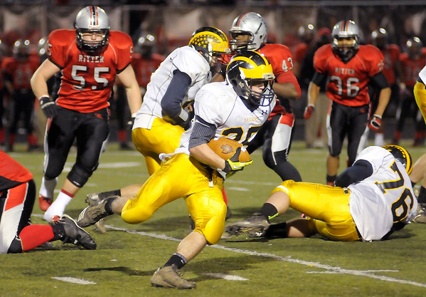 Shenandoah faced Cardinal Ritter in the Class 2A Regional at Marian University in Indianapolis on Friday.