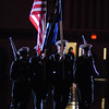 The colors are presented during pre-game ceremonies of the Indians home game against the Lapel Bulldogs.