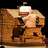 George Smith plays the Grande Page Theatre Pipe Organ at the Paramount on Friday. Proceeds from the annual concert fund ongoing restoring and maintaining of Grande Page organ.