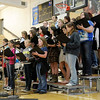 Daleville's Elementary and High School Choirs perform during the Veterans Day Program at Daleveille Jr./Sr. High School on Friday.