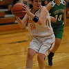 Alexandria senior Shanna Kelly drives toward the basket during the Tigers home game against Yorktown High School.