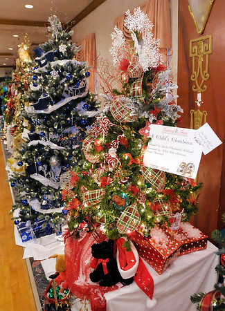"""A tree titled """"A Child's Christmas"""" is one of several on display for this year's """"Festival of Trees"""" at the Paramount on Saturday. The display will be open today (Sunday) from Noon to 5 p.m."""