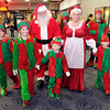 Santa, Mrs. Claus and their elves arrived at the Mounds Mall on Saturday.