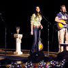 "From right,  Rory Lee Feek and Joey Martin Feek of the Country music duo Joey & Rory perform with their daughter Heidi during their ""Joey + Rory's Farmhouse Christmas"" concert at the Paramount on Friday."