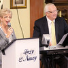 "Larry and Nancy Mechem perform as the Isabel Society held their ""Harvest Feast"" at the Harter House on Wednesday. Proceeds from the event support various projects for the residents of Harter House and Vermillion Place."