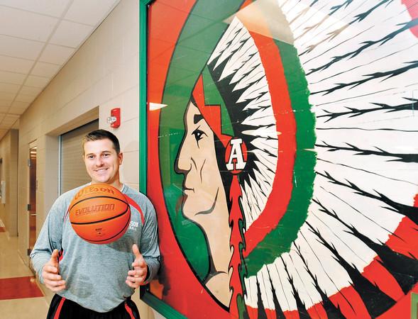 John P. Cleary   The Herald Bulletin  <br /> New Anderson High School basketball coach Ryne Smith.