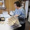 Don Knight | The Herald Bulletin<br /> Linda Swanger opened Forever Baskets in Yorktown where she teaches basket weaving and sells basket weaving supplies.