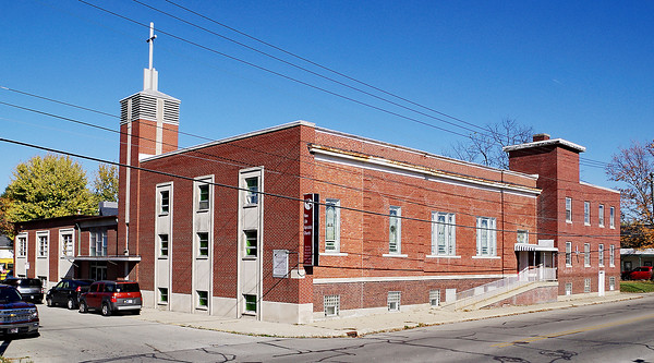 Mark Maynard | for The Herald Bulletin<br /> Dedicated on December 13, 1914, this building at 23rd and Jefferson Streets served as the home of East Lynn Christian Church for nearly a century.