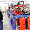 Don Knight | The Herald Bulletin<br /> Russ Jones looks at a motorcycle lift on sale at Harbor Freight Tools in Anderson during Black Friday shopping. Jones arrived early to make sure he could get one of the lifts.