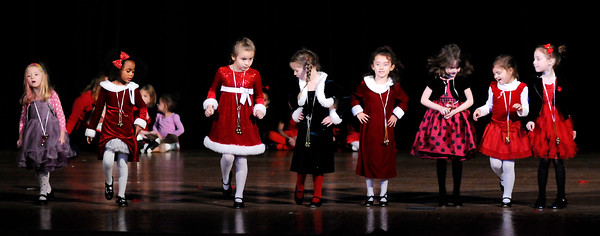 Don Knight   The Herald Bulletin<br /> Students from The Next Step School of Dance perform a during the Festival of Trees at the Paramount on Saturday.