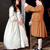 "Mark Maynard | for The Herald Bulletin<br /> Abigail (Mindy Morton) and John Adams (Mark Tumey) sing ""Yours, Yours, Yours"" in Anderson's Mainstage Theatre's presentation of ""1776."""