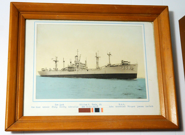 Don Knight | The Herald Bulletin<br /> William C. Irwin served in the Navy aboard the USS Alcor during the Korean War.